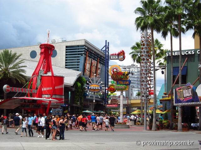 Universal City Walk - Orlando