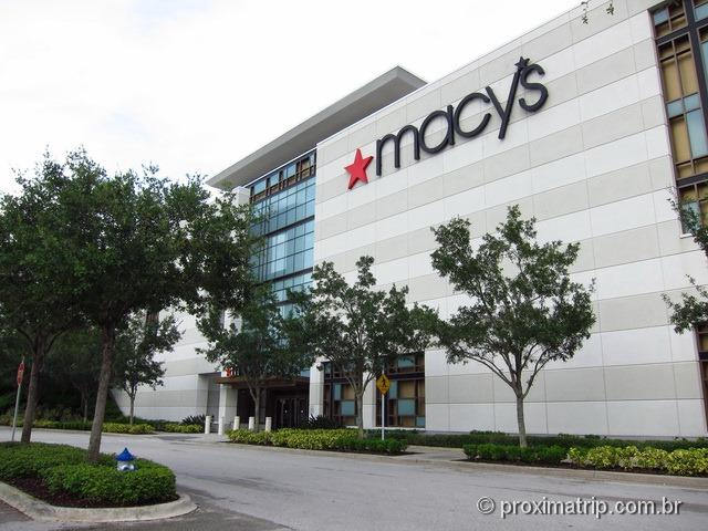 Macy's do shopping Mall At Millenia - compras em Orlando - resumão