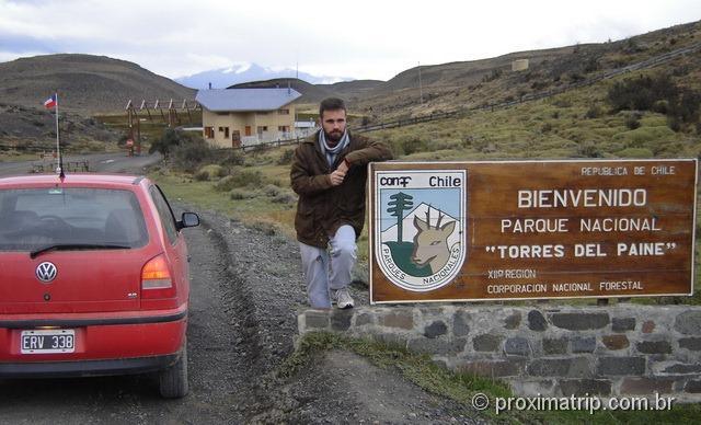 Entrada do Parque Nacional Torres del Paine - Patagônia Chilena
