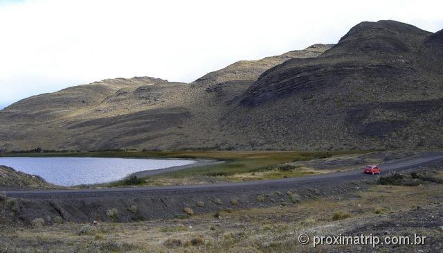 Torres del Paine - estradas de ripio dentro do parque