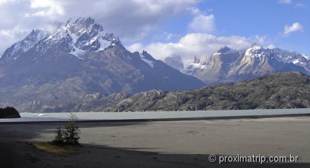 Torres del Paine - Acesso lago Grey