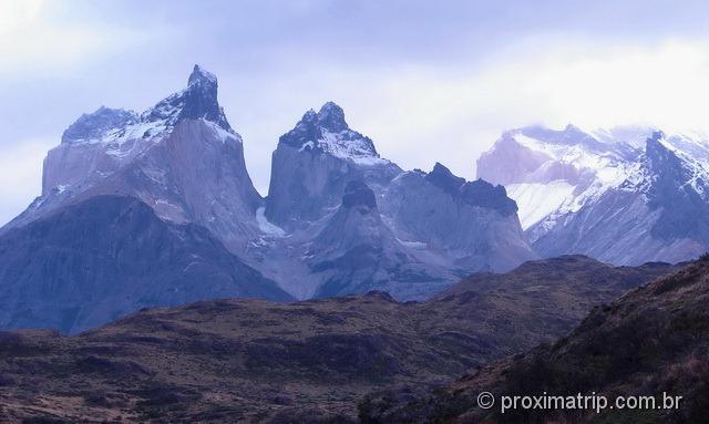 os cuernos de Torres del Paine - paisagens surreais