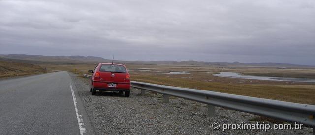 de Ushuaia a Punta Arenas com carro alugado na Argentina