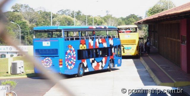 Ônibus parque nacional Foz do Iguaçu