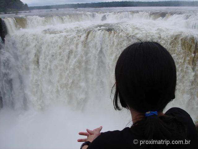 Garganta del Diablo - Parque Nacional do Iguazú - cataratas argentinas