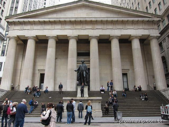 Federal Hall National Memorial - Wall Stret