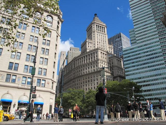 Nova York – passeio a pé por Wall street e South Street Seaport