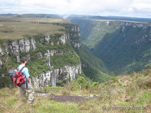 Canion Fortaleza - Trilha do Mirante no Parque Nacional da Serra Geral - RS