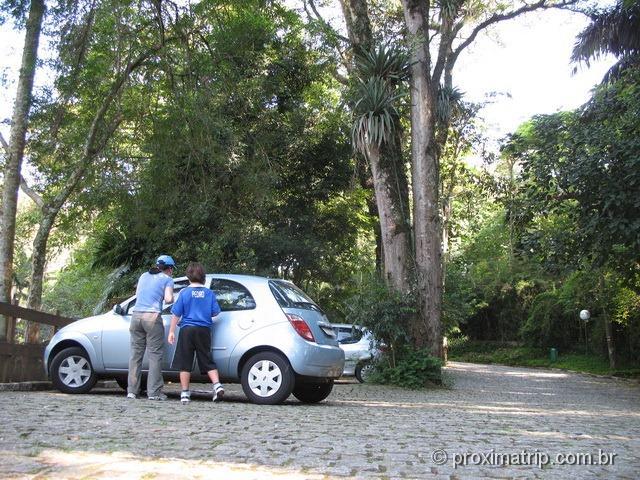 Parque estadual do Jaraguá - Estacionamento