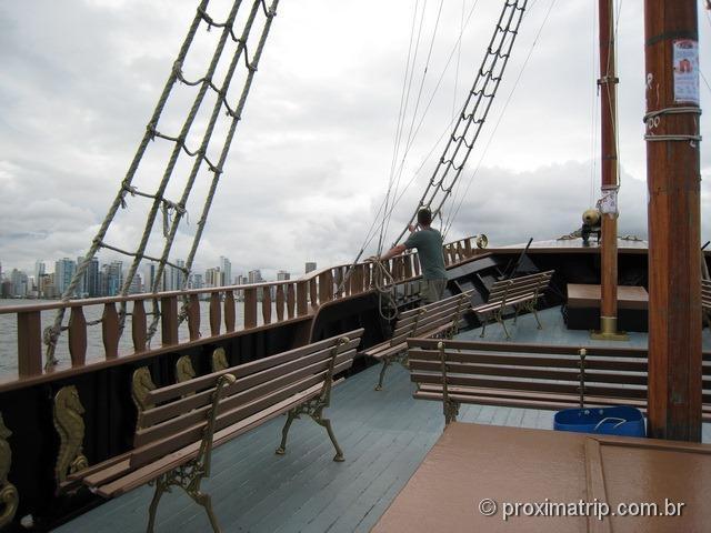 Barco Pirata em Balneário Camboriú - SC