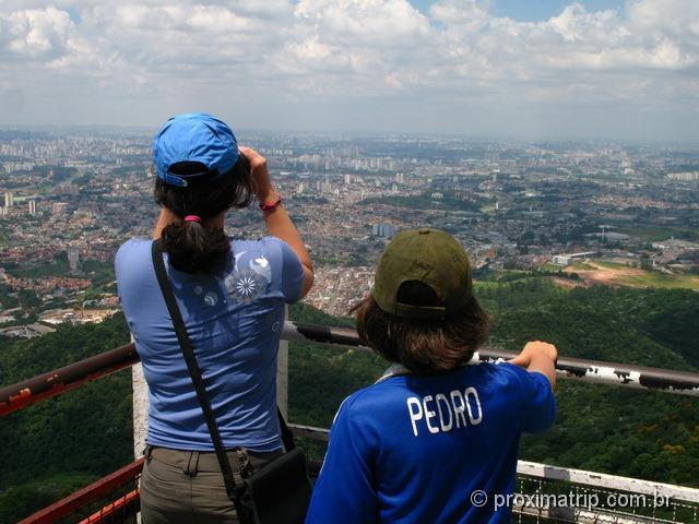 vista do mirante do Pico do Jaraguá