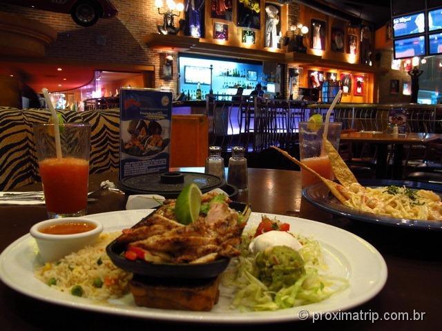 Planet Hollywood Cancun - dicas de onde comer em Cancun