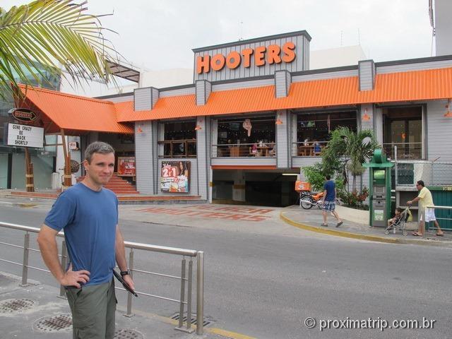 Hooters - dicas de onde comer em Cancun