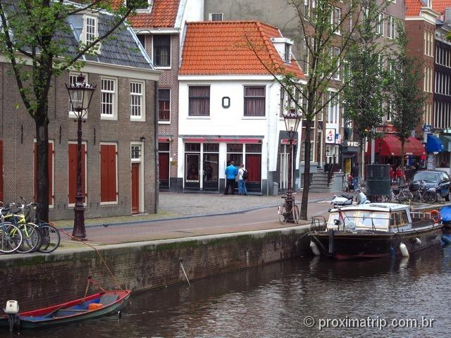 Red Light District, ou Bairro da Luz Vermelha - Amsterdam