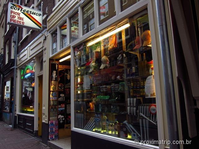 Ceffeeshop - Amsterdam e suas atrações bizarras - dicas para turistas!