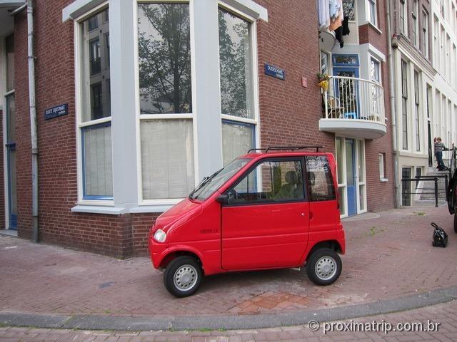 Candidato ao menor carro do mundo!