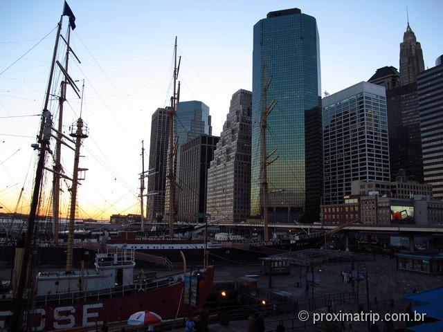 Pier 17 - Arranha céus - Nova York