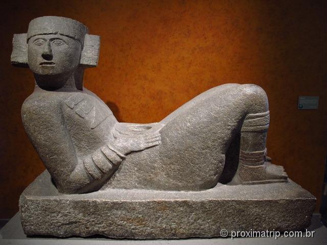 Museu Nacional de Antropologia - Cidade do México - Chacmool