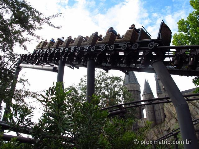 Orlando: Islands of Adventure - The Wizarding World of Harry Potter - Flight of the hippogriff