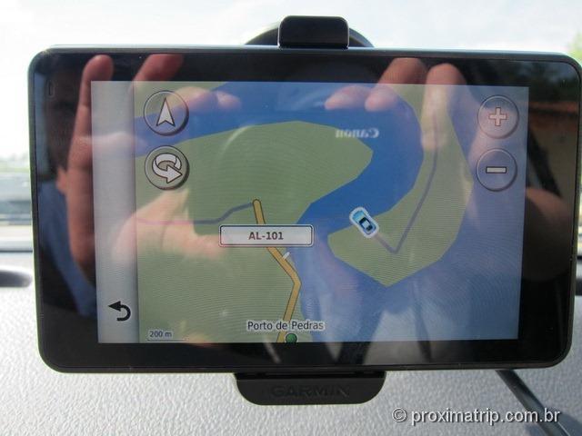 nosso GPS Garmin Nuvi 3790t
