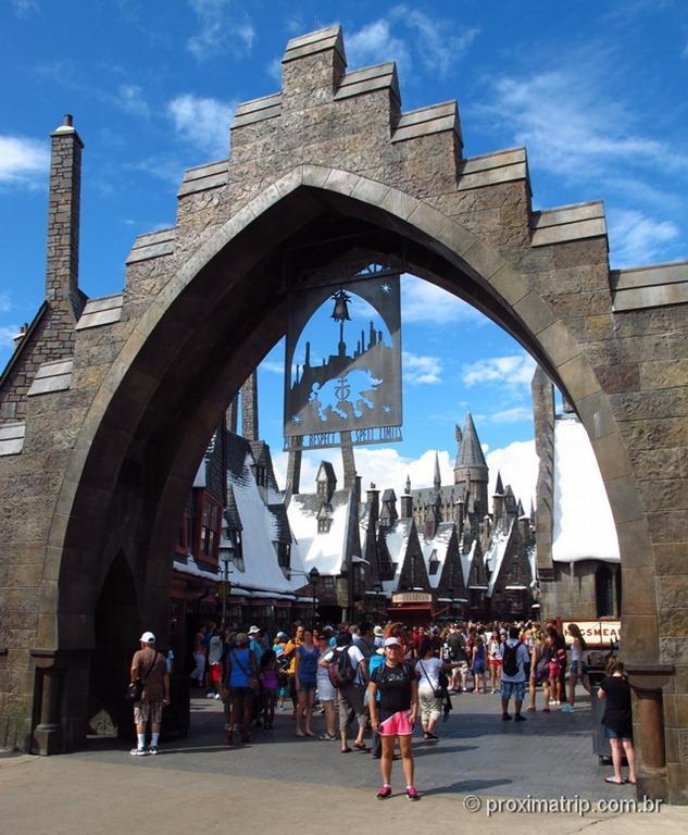 Orlando: Islands of Adventure - The Wizarding World of Harry Potter - Portico