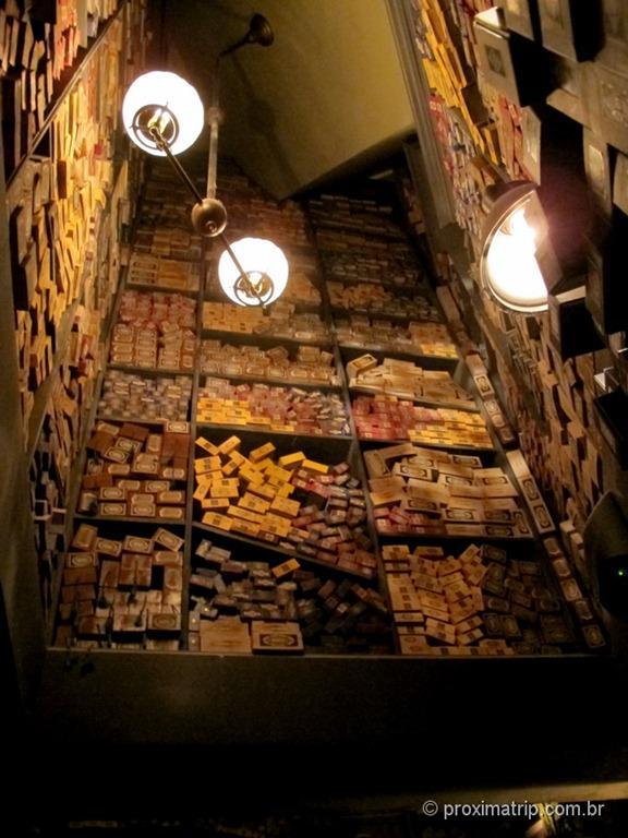 Orlando: Islands of Adventure - The Wizarding World of Harry Potter - Olivaras - A loja de varinhas