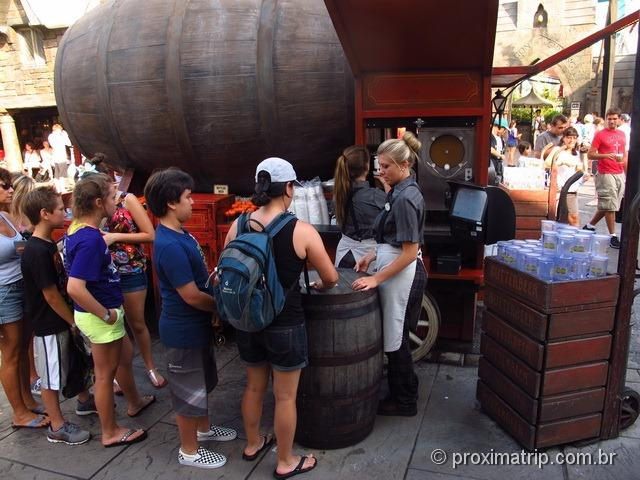 Orlando: Islands of Adventure - The Wizarding World of Harry Potter - butterbeer