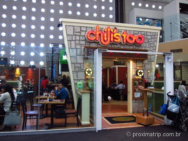 Fast food Chili's too - Aeroporto Internacional Cidade do México