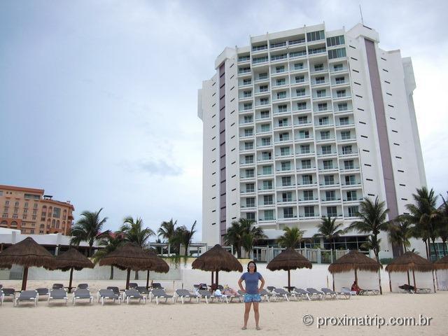 Hotel pé na areia Hyatt Regency Cancun • review do Proxima Trip