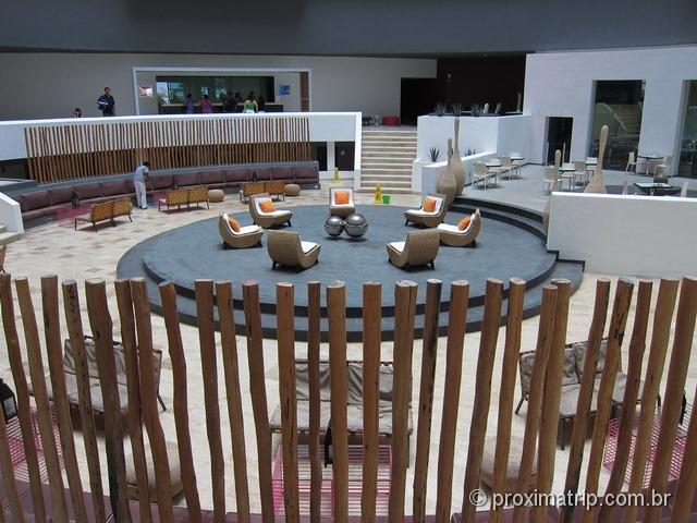 Lobby do hotel Hyatt Regency Cancun - review do Proximatrip