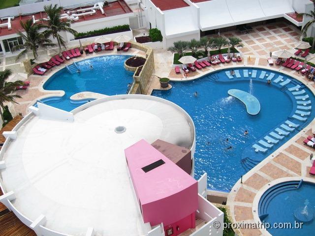 piscina do hotel Hyatt Cancun