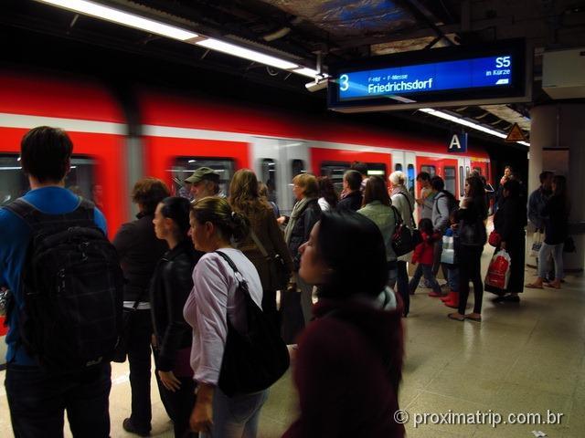 Estação de metro - Munique - Alemanha