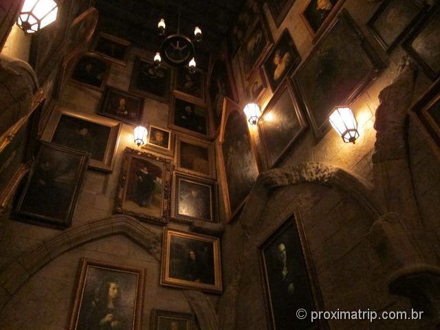 Orlando: Islands of Adventure - dentro do castelo de Hogwarts - foto 4