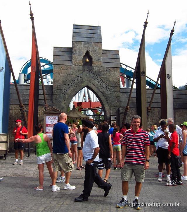 Orlando: Islands of Adventure - Dragon Challenge