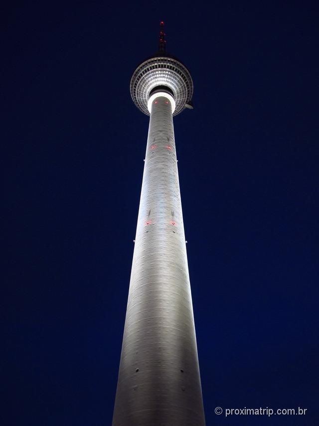 Alexanderplatz: Torre de Tv Fernsehturm - Berlim
