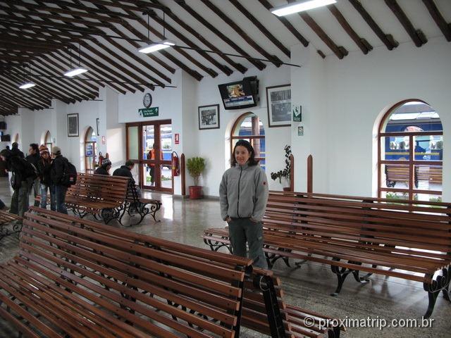 Estação de Poroy - como ir a Machu Picchu de trem (vistadome)