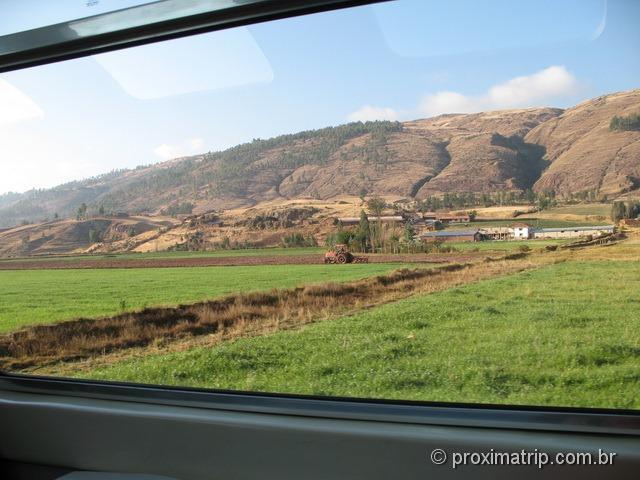 trem Vistadome - Peru