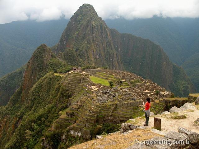 Foto clássica de Machu Picchu - Peru
