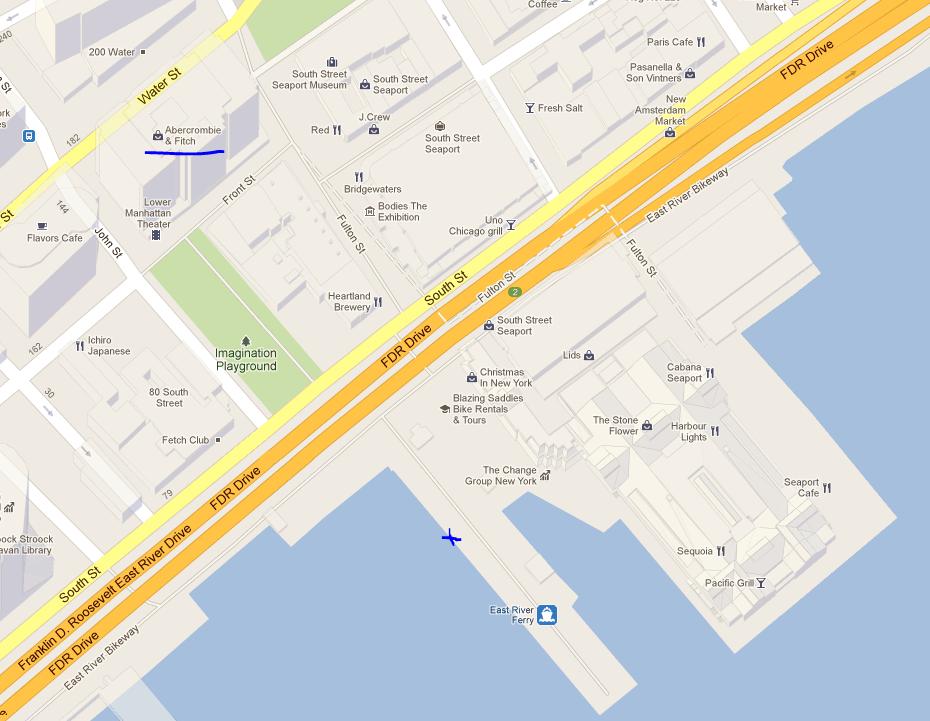 south stree seaport pier 17 ny