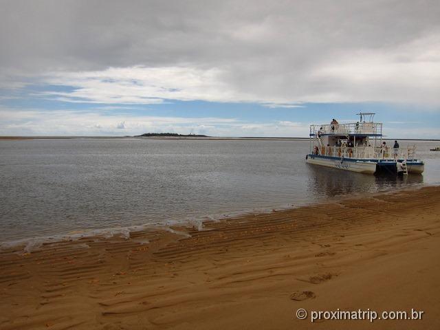 Local de saída do Catamarã Cavalo Marinho - Barra de Sirinhaém