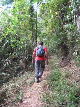 trilha Mozart-Catão, no Parque Nacional da Serra dos Órgãos