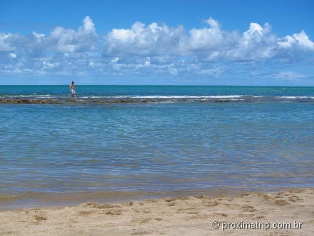 praia de Carneiros e arrecifes de coral