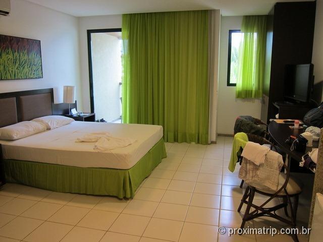 Quarto do Marulhos Suítes Resort Hotel - review Próxima Trip