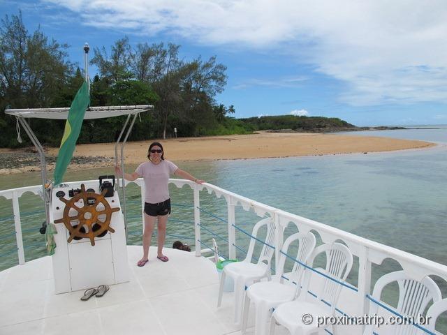 Ilha de Santo Aleixo - Passeio do Catamarã Cavalo Marinho
