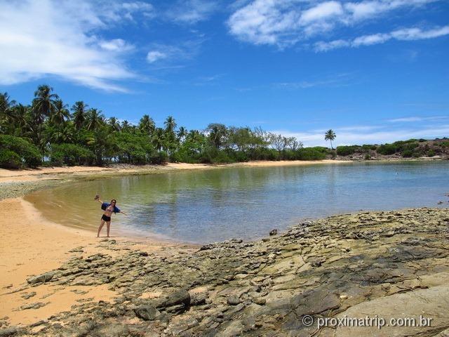 Ilha de Santo Aleixo - Praia tranquila, sem ondas! Passeio do Catamarã Cavalo Marinho
