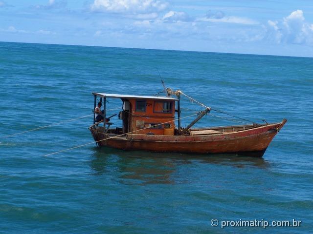 Passeio do Catamarã Cavalo Marinho - rumo a praia de Carneiros...