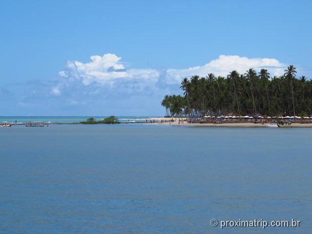 praia de Carneiros - Passeio do Catamarã Cavalo Marinho