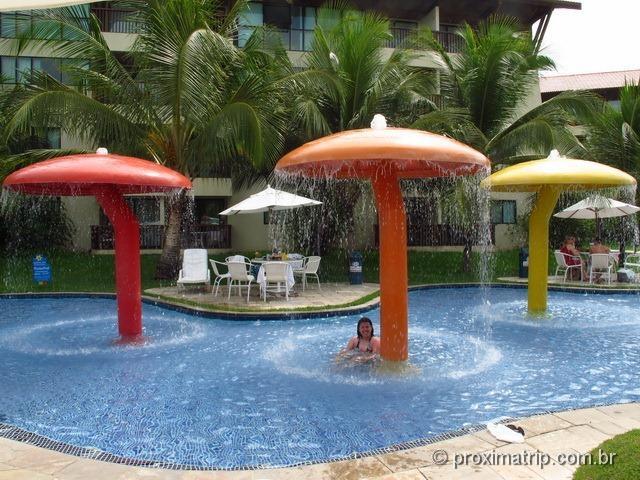 Piscina para crianças do Marulhos Suítes Resort Hotel - review Próxima Trip