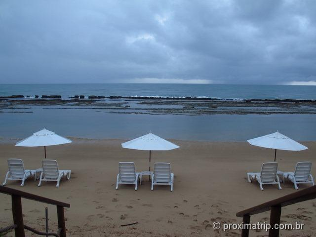 review do hotel pé na Areia Marulhos Suítes Resort - praia de Muro Alto