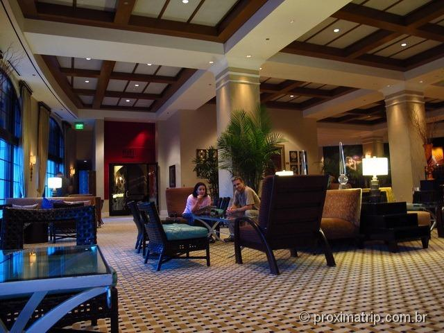 Lobby do Hard Rock Hotel Orlando - review Próxima Trip